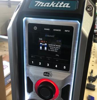 Makita DMR115 Akku Radio DABDAB+